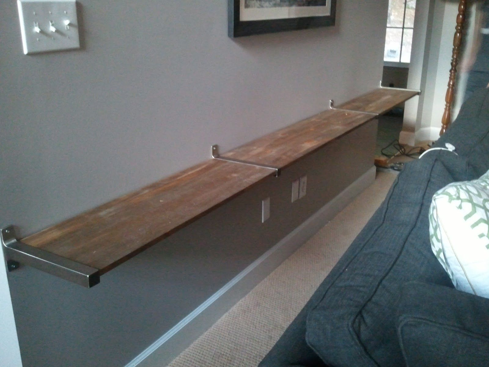 Alternative Kitchen Flooring Alternative To Console Table Behind Couch Doesnt Take Up Any