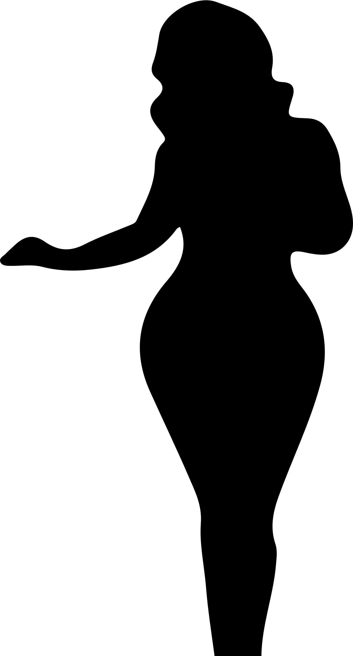 Full Figured Woman Silhouette In 2021 Black Woman Silhouette Woman Silhouette Silhouette Clip Art