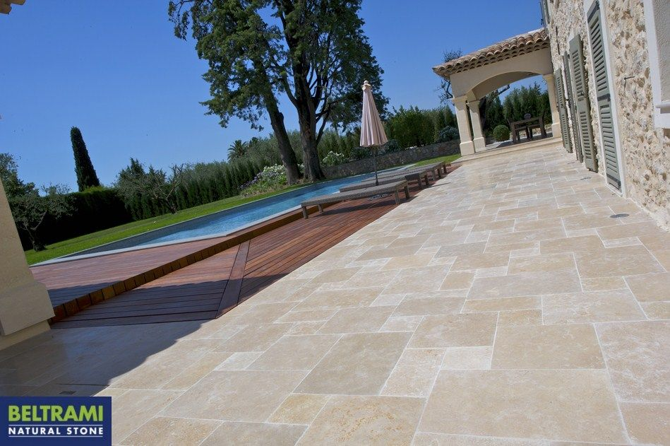 Beltrami natuursteen natural stone sinai pearl terras for Natural terrace