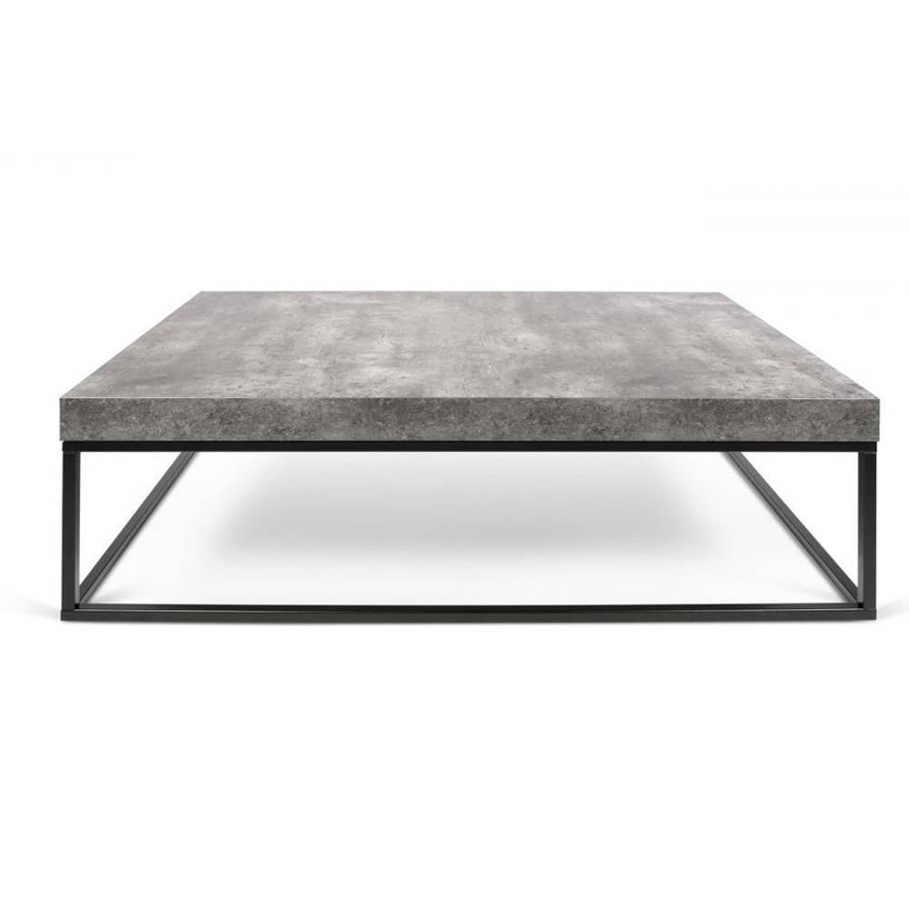 Table Basse Petra Effet Beton Table Basse Table Basse Beton Table Basse Contemporaine