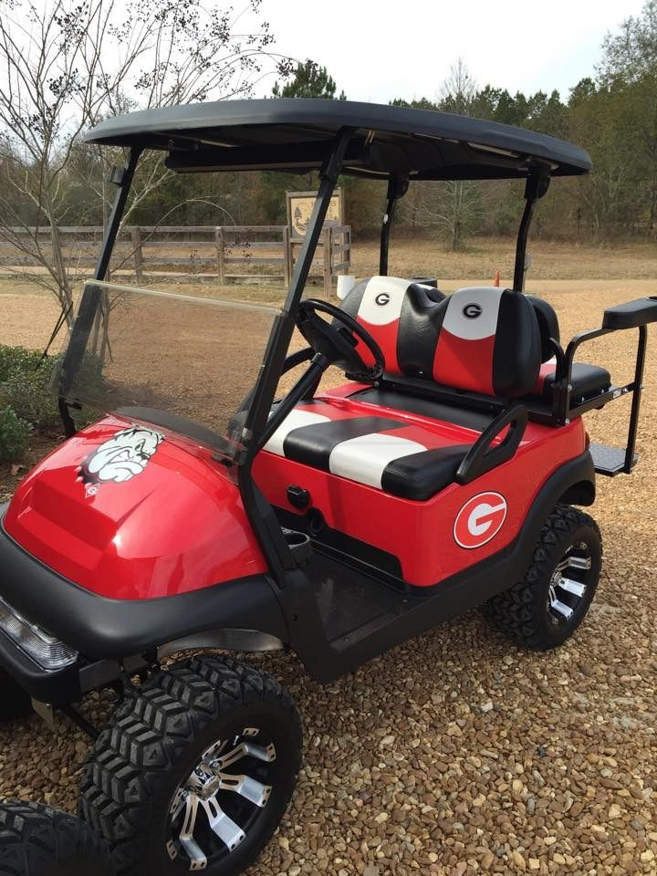 Georgia Bulldogs Golf Cart More Golf Carts Custom Golf Carts Golf