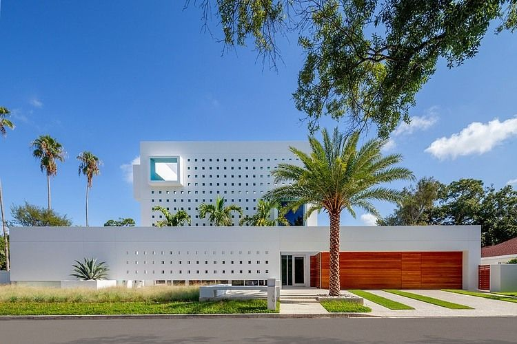 modern impeccable dream florida mansion by office for architecture rh pinterest com