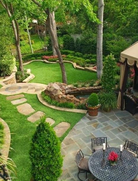 20 Futuristic Backyard Garden Design Eweddingmag Com Large Backyard Landscaping Small Garden Landscape Large Yard Landscaping