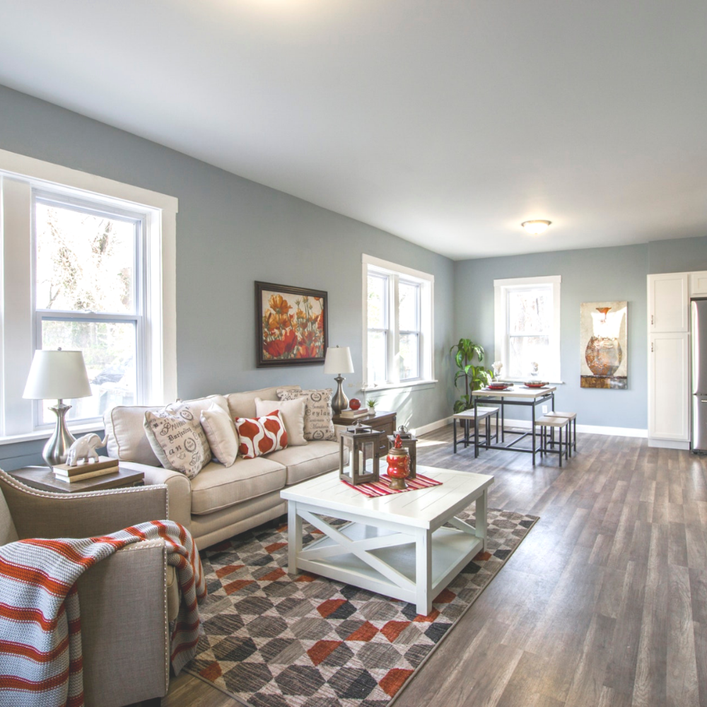 Farmhouse Lovers This Living Room Can Handle Your Kids Your