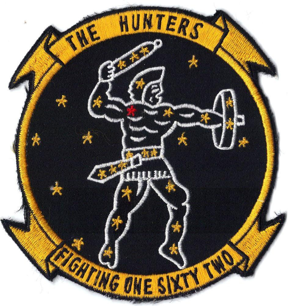 VF162 HUNTERS Squadron Insignia Insignes, Patch