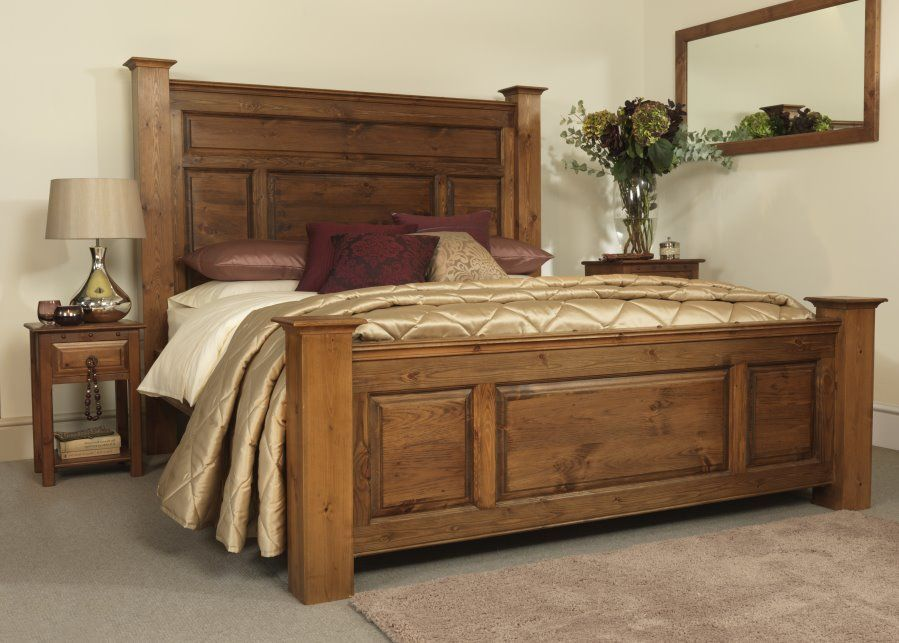 Traditional Super King Size Solid Wood Bed Frame Traditional Bed Frames King Size Wood Bed Frame Wood Bed Frame Solid wood king beds