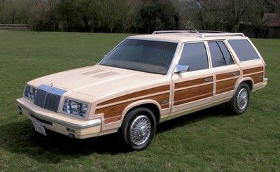 Chrysler Le Baron Town And Country Faux Woodie Wagon Given To