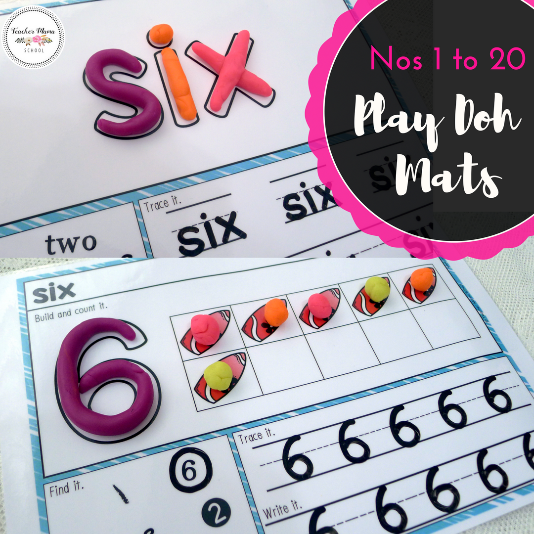 Numbers 1 To 20 Math Center Activity