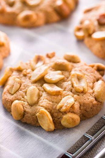 Erdnuss-Kekse: Schmecken wie das amerikanische Original