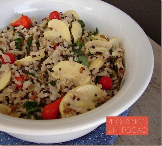 Uma receita super gostosa e saudável de arroz 7 cereais que vai arrasar na sua ceia de Natal.