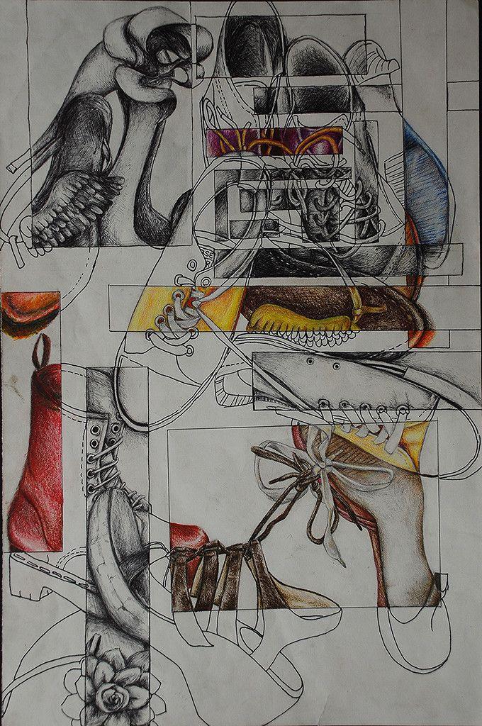 High school sketchbook assignments
