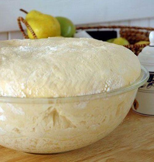 Тесто с разрыхлителем для пирога