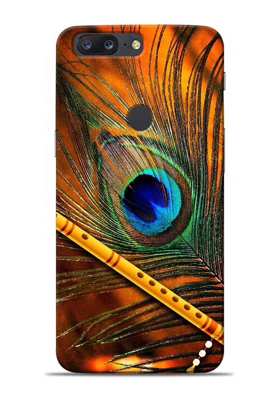 lowest price 249da 441fb Lord Krishna Mor Pankh Designer OnePlus 5T Back Cover in 2019 ...