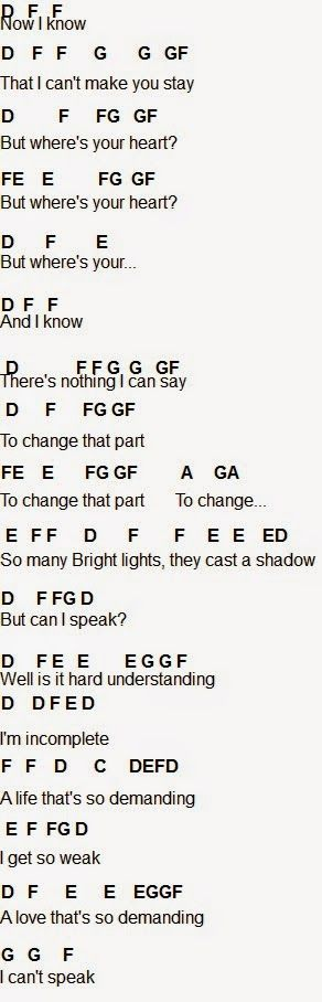 Flute Sheet Music Famous Last Words Music Pinterest Sheet