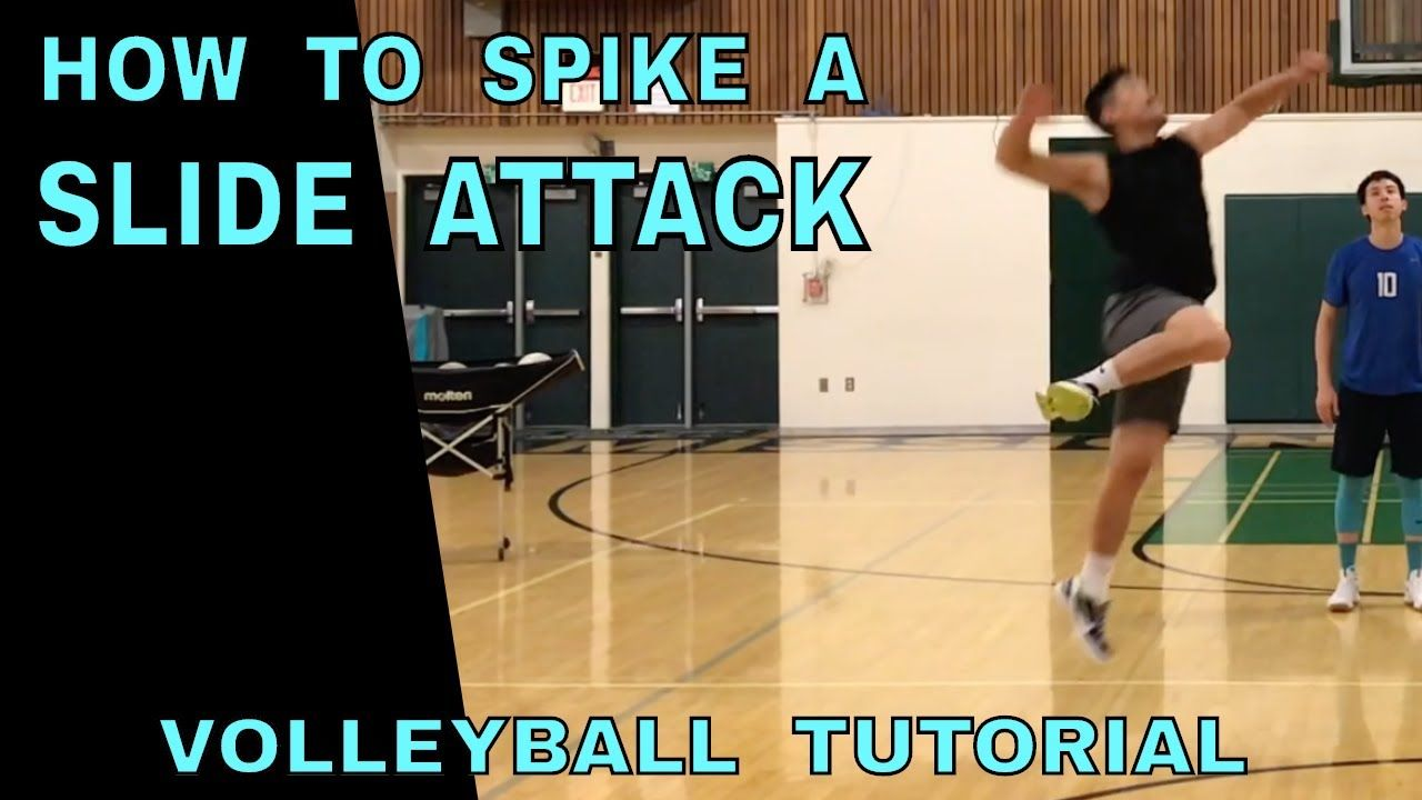 How To Spike A Slide Volleyball Tutorial