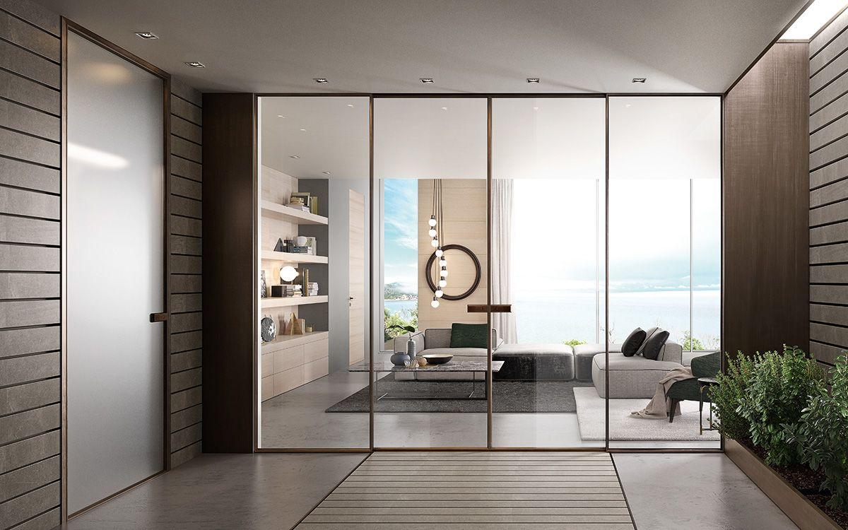 Glass And Aluminium Sliding Door G Like Modern Collection By Gidea Internal Doors Internal Glass Doors Contemporary Internal Doors Bedroom aluminum sliding door