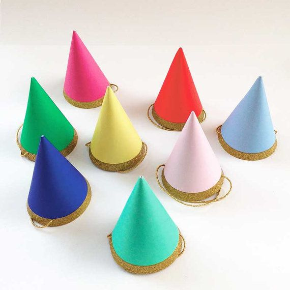 Cheap Cap Med Buy Quality Post Directly From China Bull Suppliers Mini Party Meri Happy Birthday Hats Toot Sweet Rainbow Gold Glitter Cone