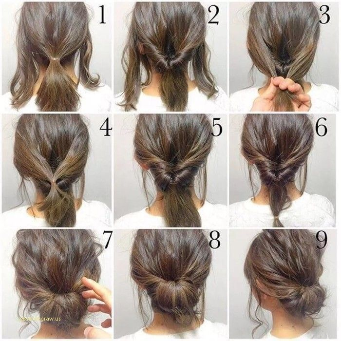 Awesome Hairstyle For Medium Length Hair Updo Short Hair Styles Easy Diy Hairstyles Simple Wedding Hairstyles