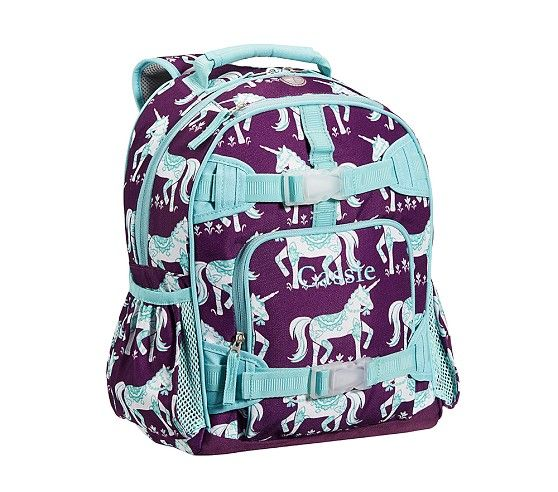 Mackenzie Plum Unicorn Backpacks Pottery Barn Kids Small