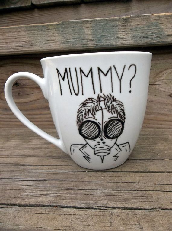 Doctor Who Are You My Mummy Coffee Mug Tea Cup MMMug by betwixxt