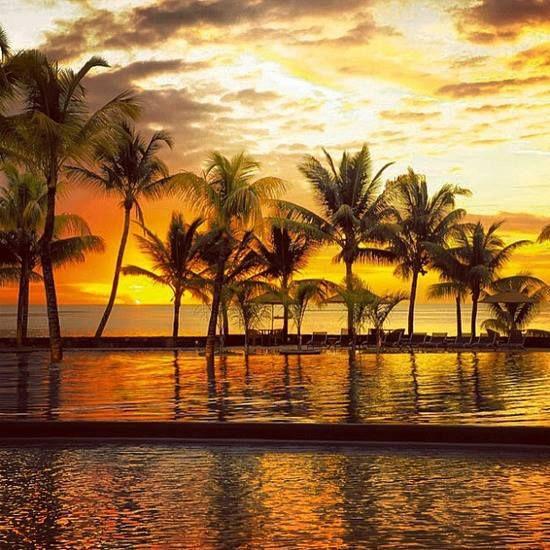 Sunset- Mauritius