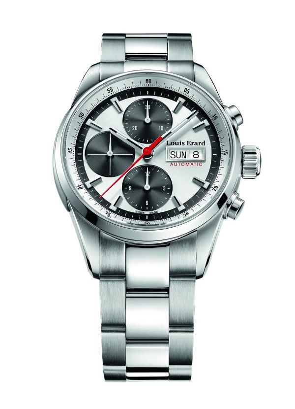 men watches Where to buy  Louis Erard Heritage Collection Swiss Automatic Silver/Grey Dial Men's Watch 78104AA13.BMA22