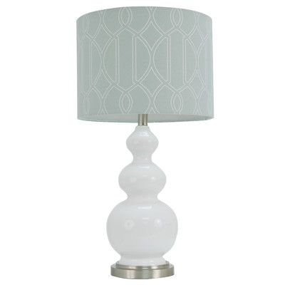 Another possible lamp option mercury row 27 h table lamp with drum shade