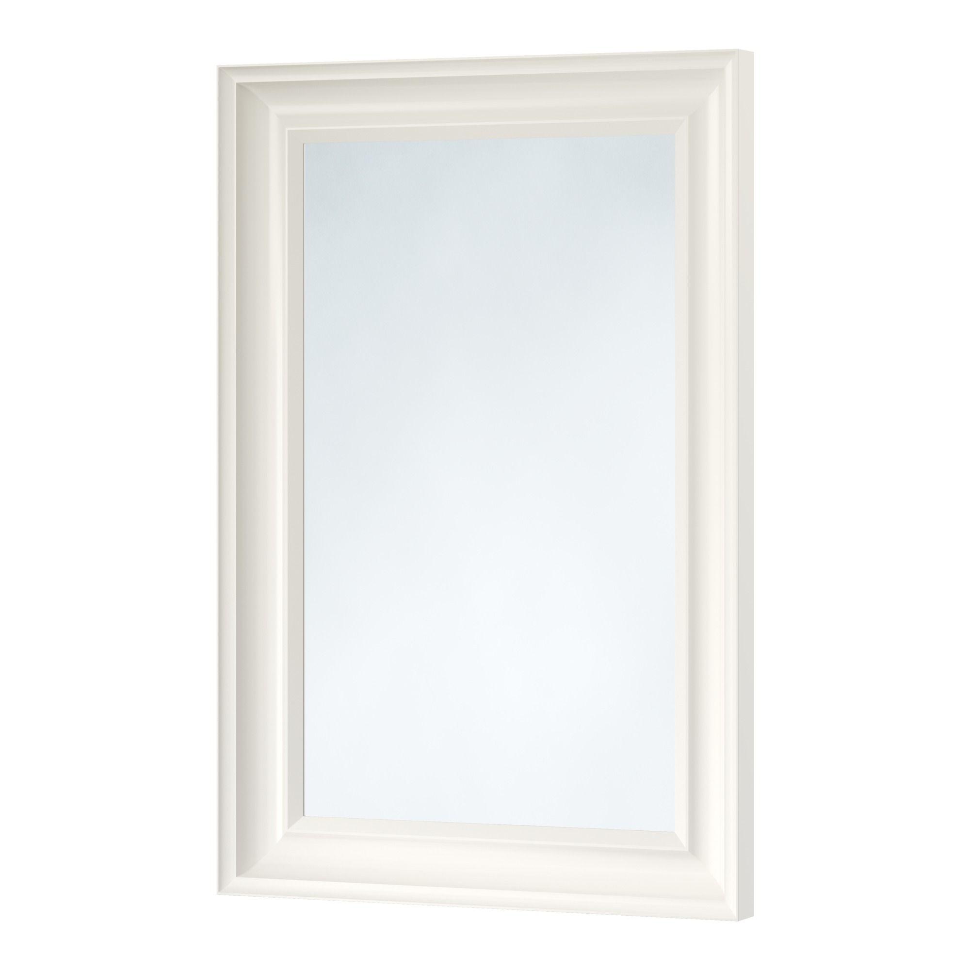 IKEA - HEMNES, Espejo, blanco | Área de maquillaje | Pinterest ...
