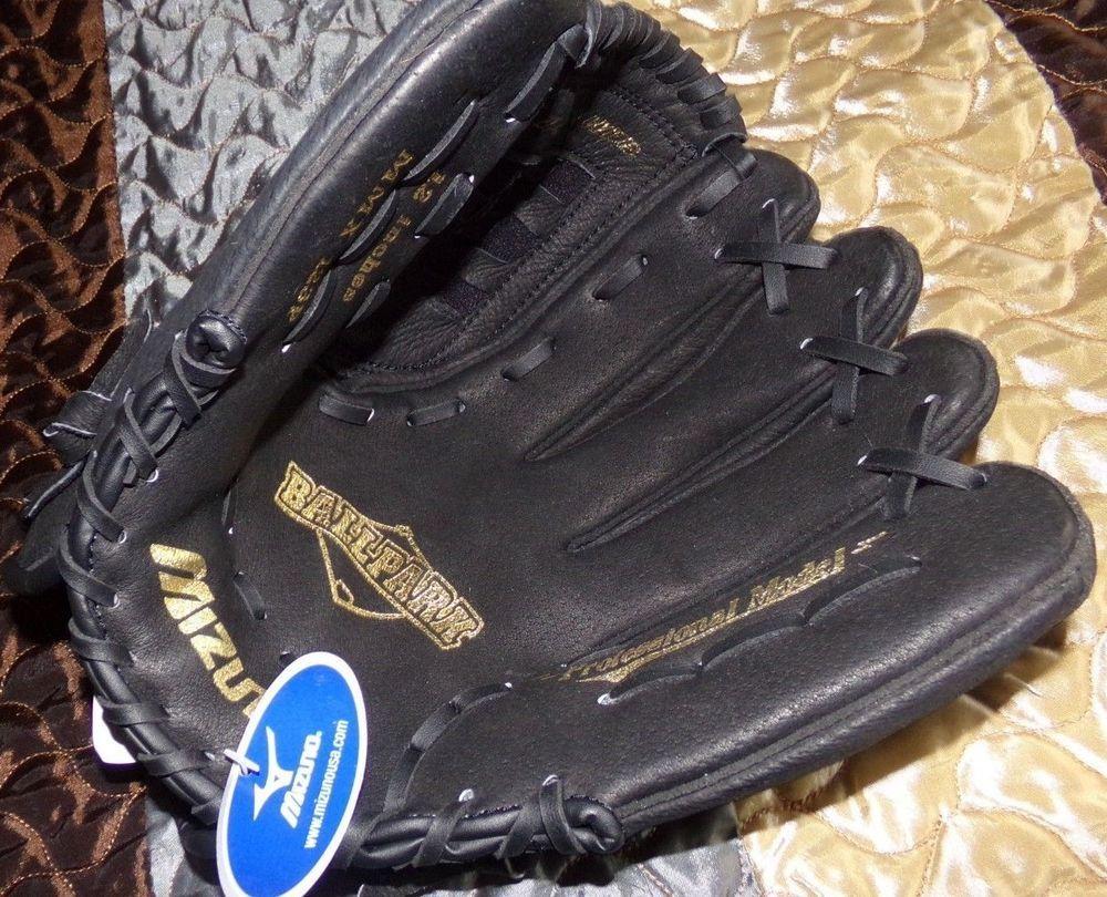 Koop Authentiek beste verkoop vangst New Mizuno BallPark Professional Model Baseball Glove Mitt ...