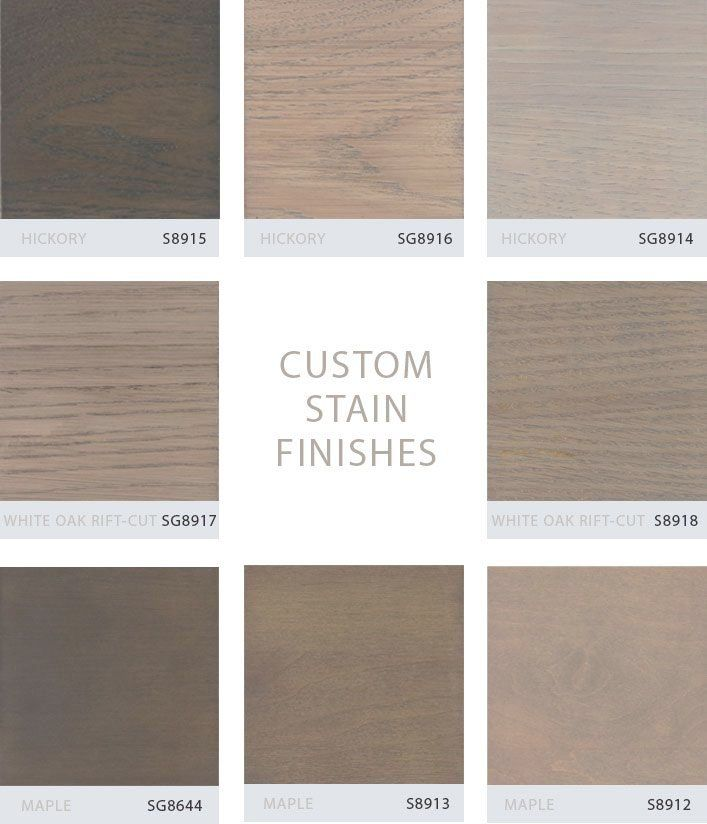Staining Oak Cabinets White Gray Stained Hickory Grabill Turns Its Custom Stain Finishes Into