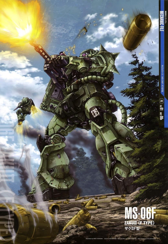Ms 06f Zaku Ii F Type Gundam Wallpapers Gundam Mobile Suit Gundam