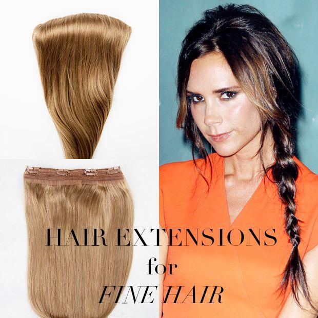 Hair Extensions For Fine Hair Thin Hair Pinterest Fine Hair