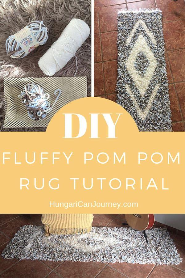 Diy Tutorial With The Best Yarn For Fluffy Pom Pom Rug