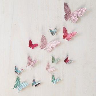Je Confectionne Des Papillons En Papier Diy For Childs Papillon