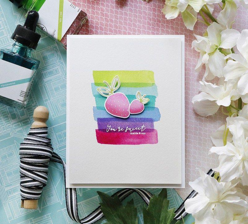 Pinkfresh Studio Fruitastic Watercolor Video Liquid Watercolor