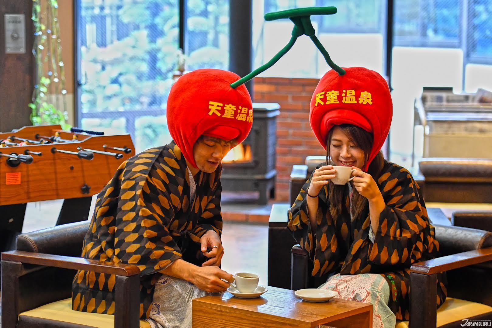 Our name is Sakuranbo ~   #nikon #d5 #photography #japan #japanese #onsen #yamagata #tendo #tendocity #sakaeyahotel #onsenryokan #japaneseculture