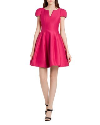 22f2c140fa5 HALSTON HERITAGE Structured Faille Dress.  halstonheritage  cloth  dress