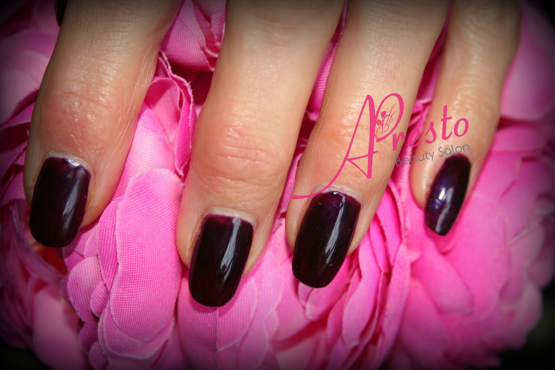 CND SHELLAC op CND acryl nagels met additives. http://www ...