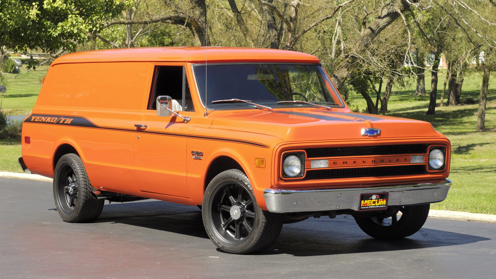 1970 Chevrolet Panel Delivery Truck 1 Print Image Panel