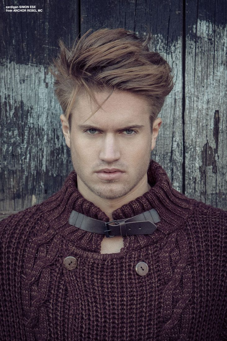 Harbour boy by florian dünker for male model scene men hairstyles