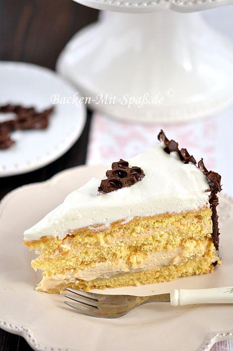 Sahne- Karamell- Torte