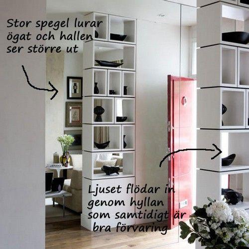 lösning för liten hall For the Home Pinterest Hall, För hemmet och Idéer