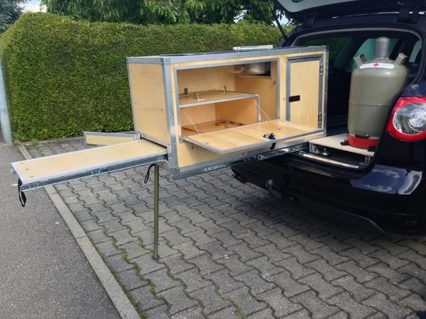 Küchenbox camping ~ Man s compact diy camping kitchen system means better off road