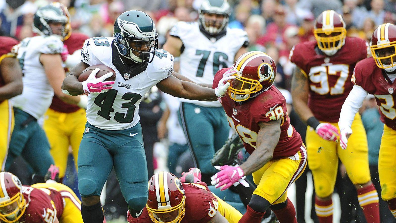 Darren Sproles Could Be Eagles X Factor Against Washington With Images Redskins Redskins Game Eagles