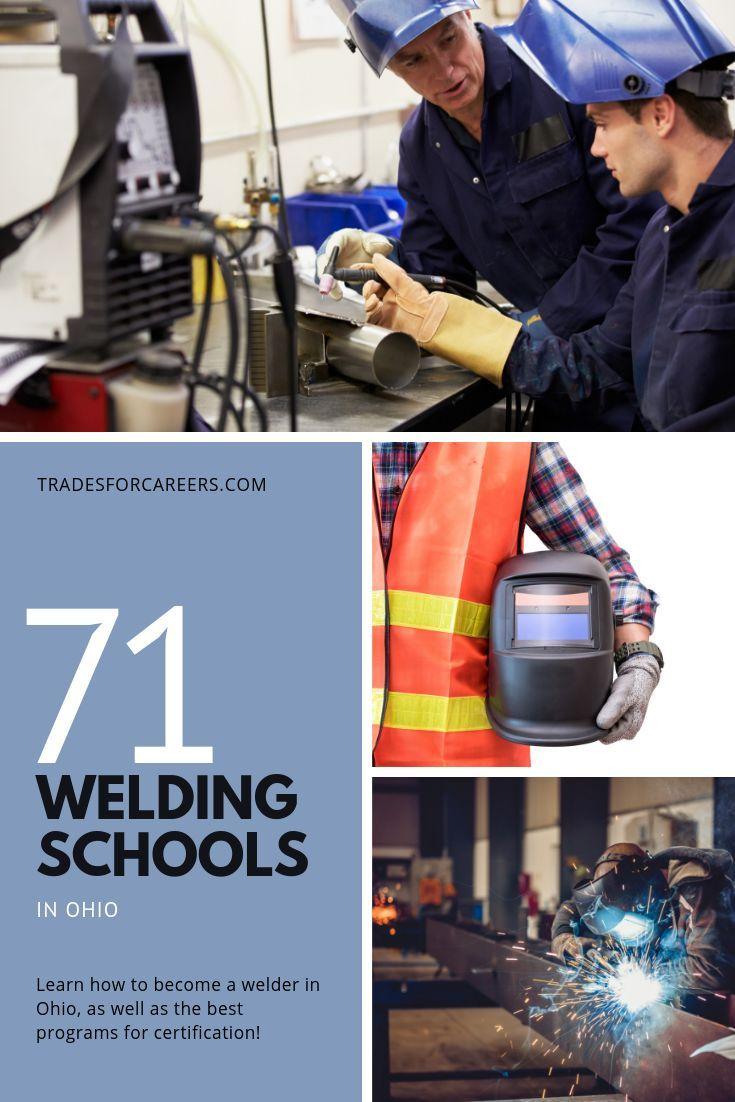 The 71 Top Welding Schools for Certification in Ohio