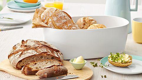 Die Aufbewahrung So Bleibt Brot Länger Frisch Brot Brötchen