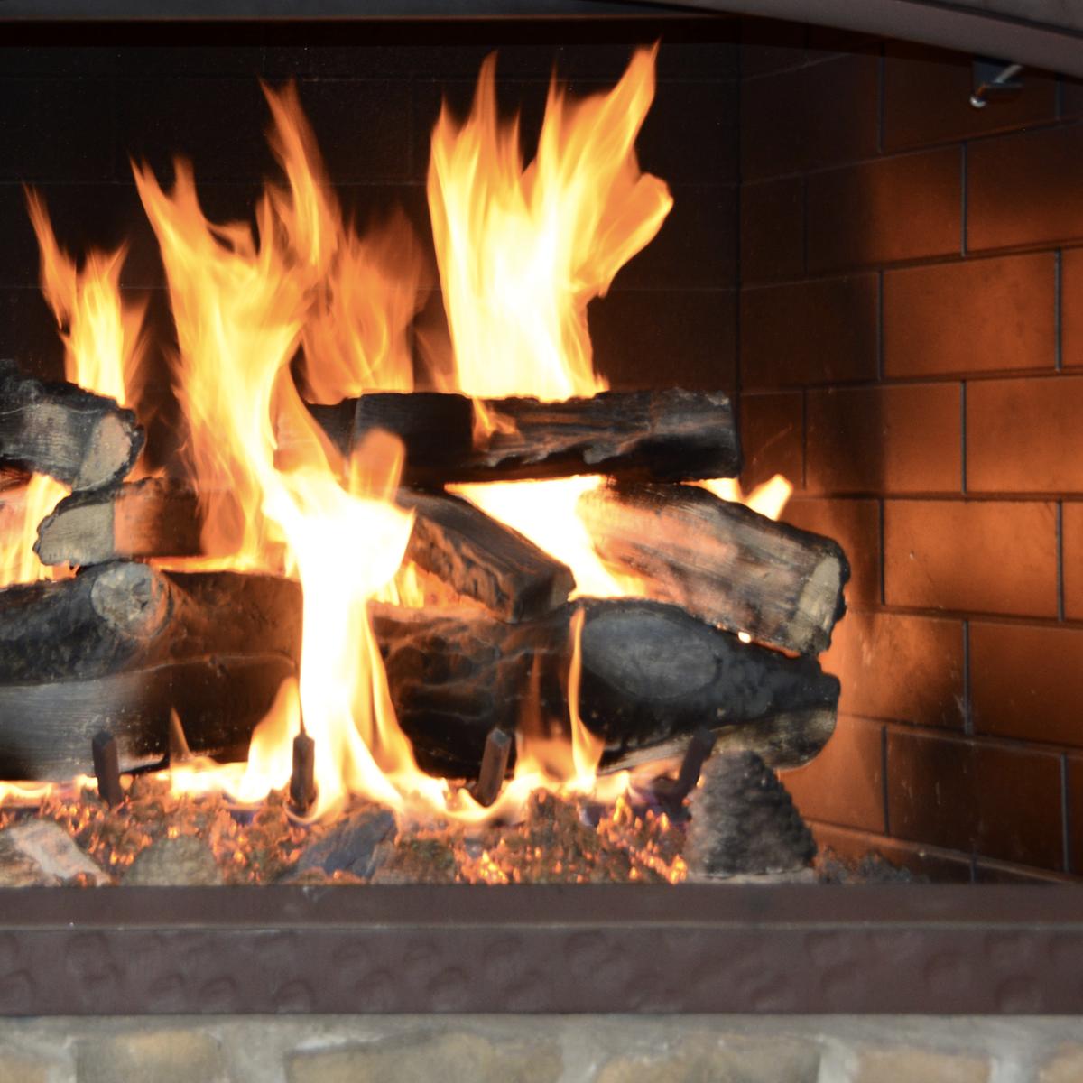 Online never ending fireplace