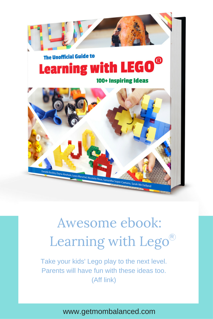 This eBook has so many amazing ideas for kids and parents to do together to take your play with Lego to the next level. I love how they use items you probably already have and give activities that allow for learning and development. (Aff link)
