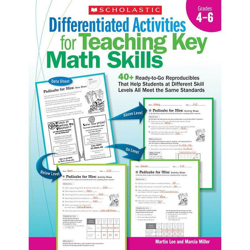 This Collection Of 14 Standards Based Activities Provides Exactly