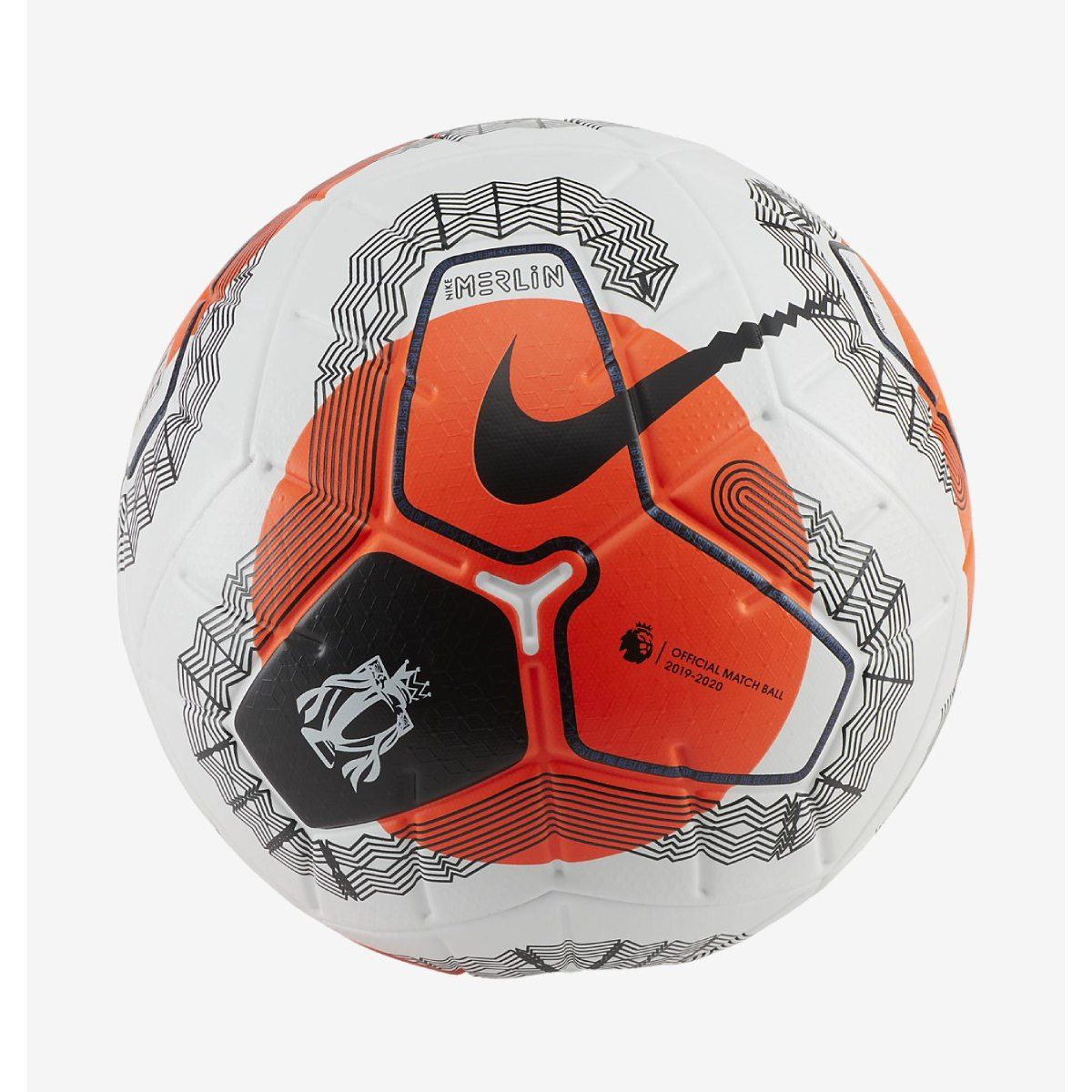 Nike Premier League Tunnel Vision Merlin White Hyper Crimson Black In 2020 Premier League League Football Trainer